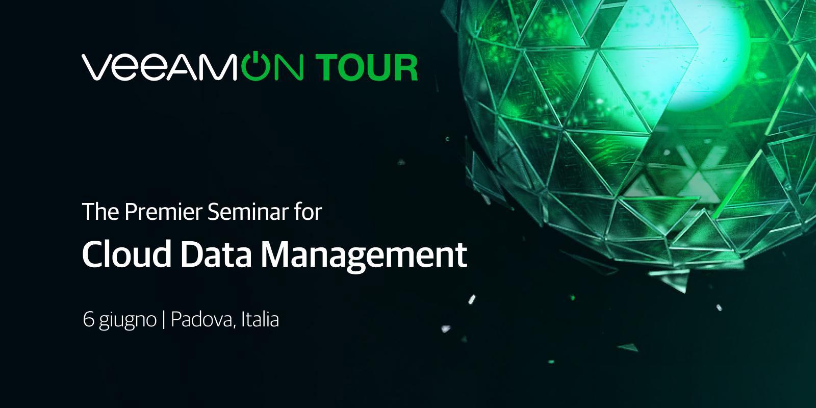 Ti aspettiamo al Veeam On Tour – Padova